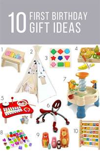 first birthday gift ideas for girls or boys birthday