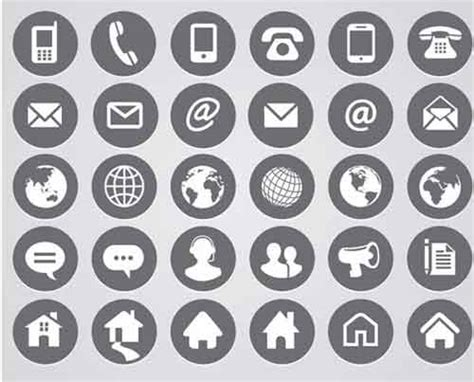Web Email Search Phone Email Web Icon Free Icons