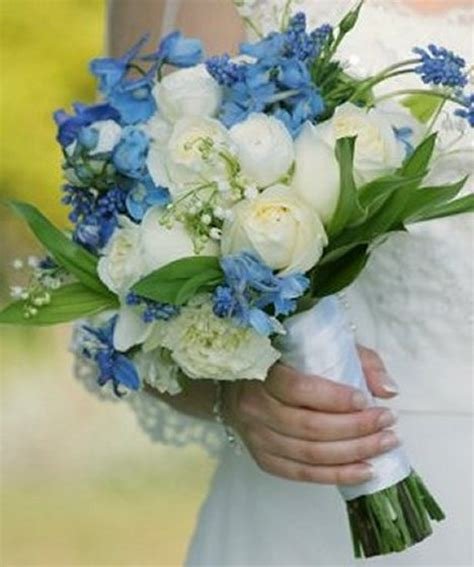 Wedding Flower Ideas Blue by Blue Bridal Bouquet Ideas For Weddings