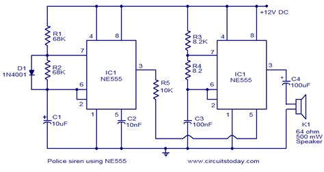 integrated circuit 555 projects 555 timer ic electronics projects