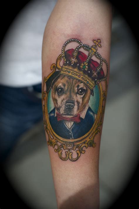 tattoo fixers dog portrait new dog portrait tattoo real photo pictures images and