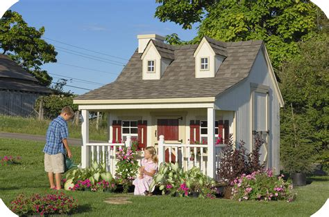 children s cottage children s playhouse plans