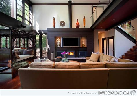 A Showcase Of Modern Living Room Designs With Asian Influence