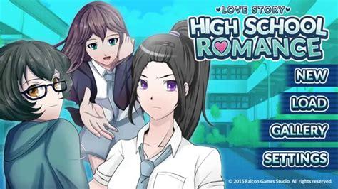anime game love love story highschool romance playthrough part1 youtube