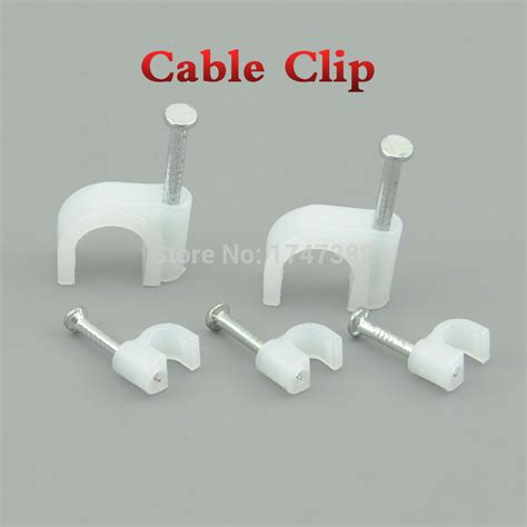 hanging pictures with wire and clips 100pcs 6mm round steel nail cable wire wall hanging screw