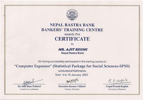 training certificates welcome to ajit regmi s portfolio