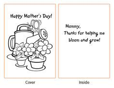 mothers day cards to make in school templates mothers s day on s day s