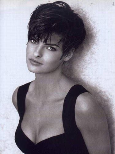 1980s super short haircuts for women i would kill for fashion linda evangelista