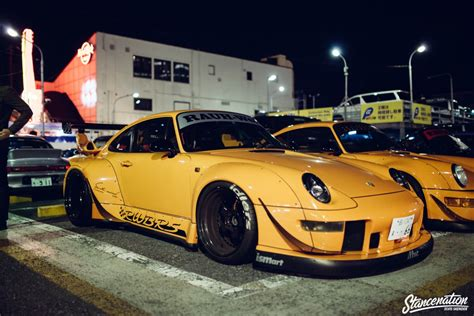 Rwb Porsche Meet At Roppongi Japan Stancenation