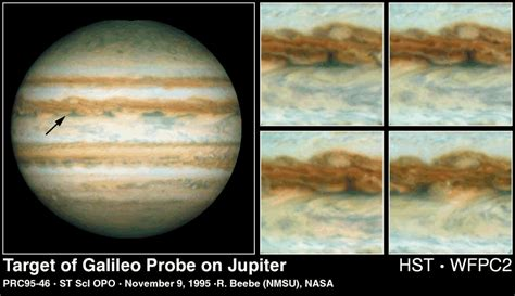 Jupiter Briefprobe Apod December 6 1995 24 Hours From Jupiter