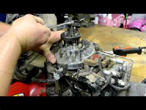 valve adjustment briggs stratton intek ohv craftsman riding lawnmower lawn tractor