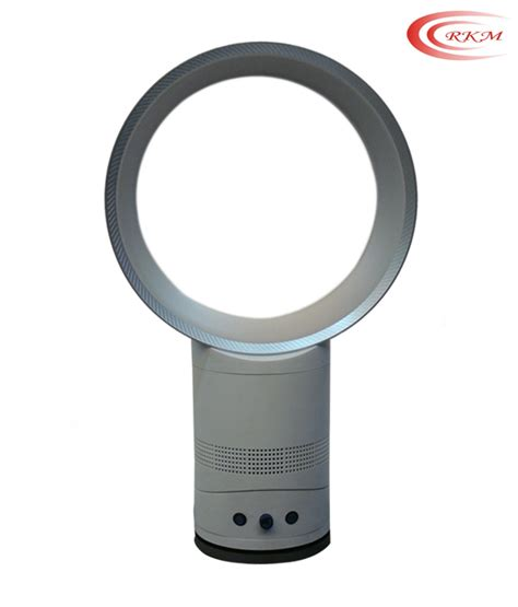 Bladeless Ceiling Fan Price by Rkm Bladeless Fan 12 Inch With Remote Best Deals With