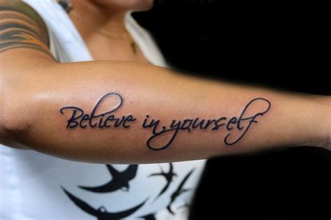tattoo infinity believe in yourself pics for gt believe in yourself infinity tattoo