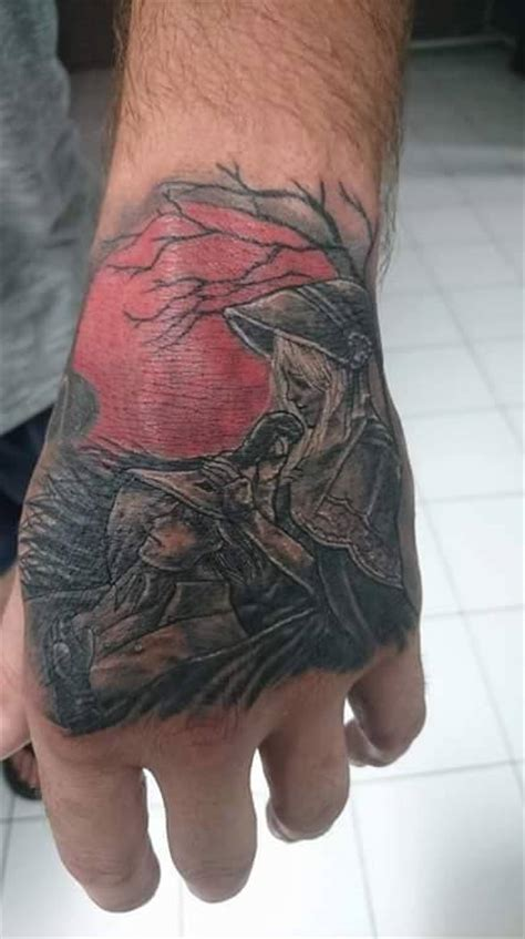 tattoo bloodborne2 by hollow moon art on deviantart