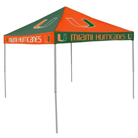 Miami Hurricanes Tailgate Tent Canopy   Checkerboard