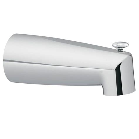 moen diverter tub spout in chrome 3830 the home depot