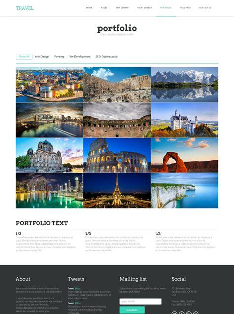 viscom design brief template journey html template travel hotel website templates