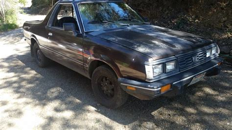 subaru brat for sale craigslist 1986 subaru brat 4x4 for sale in los gatos california