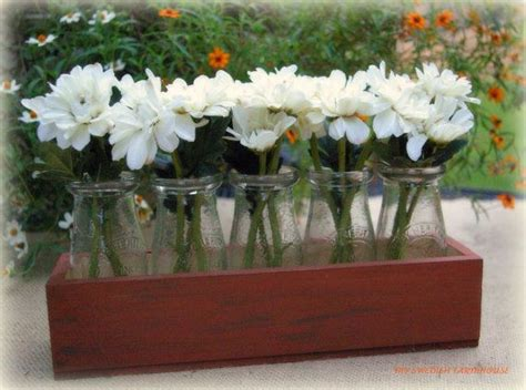 Used Wedding Vases by 5 Fashioned Milk Jars Used For Vases Even