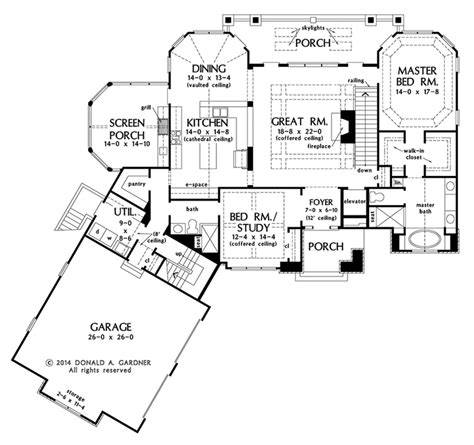 donald a gardner floor plans 100 gardner floor plans house plan the granville by