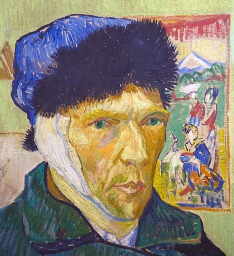 van gogh ear there is a link between genius and madness but we don t