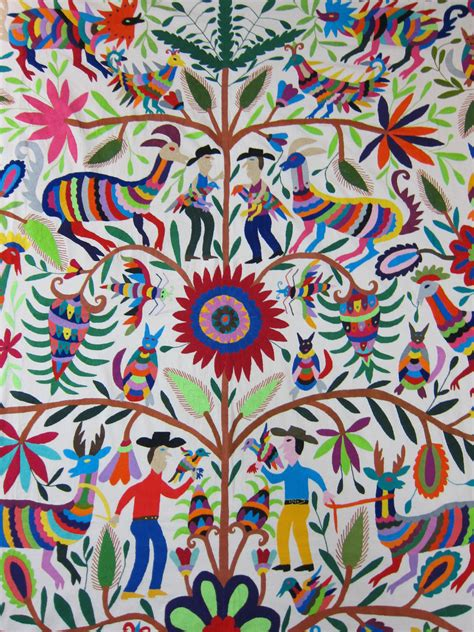 mexican pattern artist mexican patterns otomi fabric and textiles for home