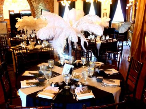 Fall Centerpieces With Feathers by Halina S Blog Practically Perfect Affordable Wedding