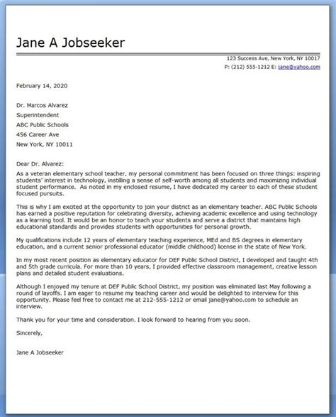how to make an effective cover letter 10400