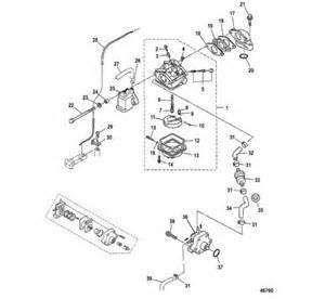 Fuel System Mercury Outboard Carburetor And Fuel System Mercury Marine Parts