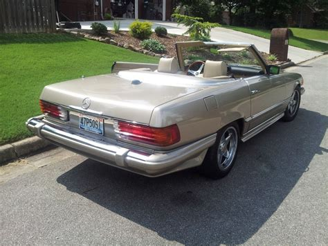 mercedes roadster for sale 1985 mercedes 380 sl roadster for sale