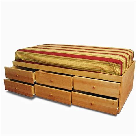 xl twin storage bed beds twin xl and storage on pinterest