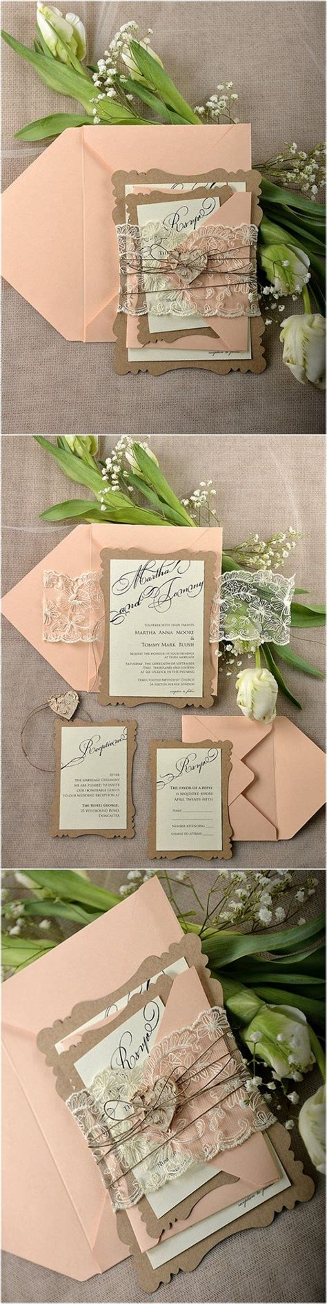 Diy Vintage Wedding Invitation Kits