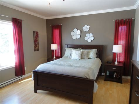 red accent walls ideas  pinterest red accent