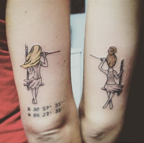 distance tattoos bestfriend distance tattoos