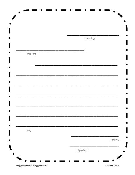 letter writing template 8 best images of blank printable alphabet letters blank