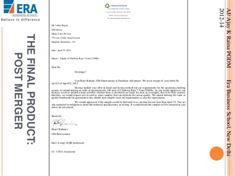 Business Letter Format Sent Via Fax Business Letter Sle