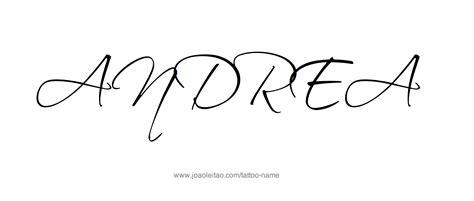 andrea tattoo andrea name designs designs and