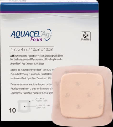 Styrofoam Box Ag 75 Garuda convatec 420681 aquacel ag foam adhesive dressing 4 quot x 4 quot 2 75 quot x 2 75 quot pad size wound