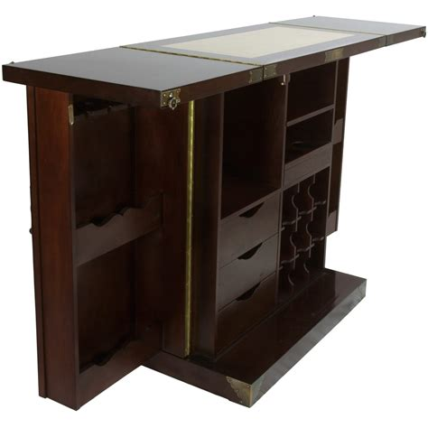 Wine Bar Cabinet Furniture Furniture Korean Antique Style Liquor Cabinet Wine Bar Ebay