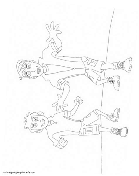 printable coloring pages wild kratts wild kratts coloring pages to print