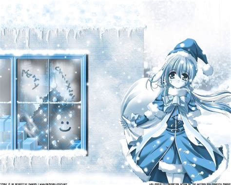 Anime Gift Card - anime christmas cards