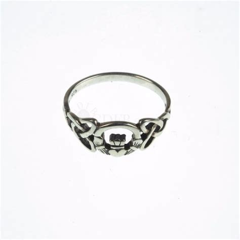celtic claddagh ring silver
