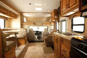 midi motorhome mhb 6 berth rv canadream vehicle motor home interiors