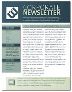printed newsletter templates newsletter templates free lucidpress