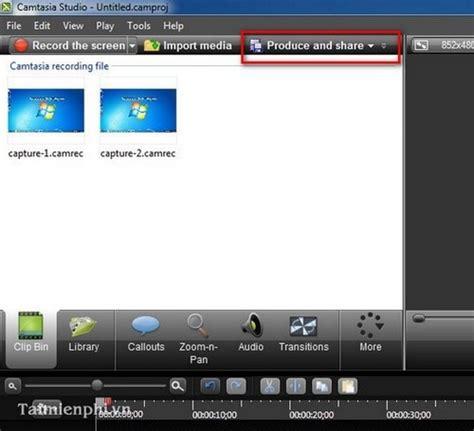 format video camtasia video clips in camtasia studio