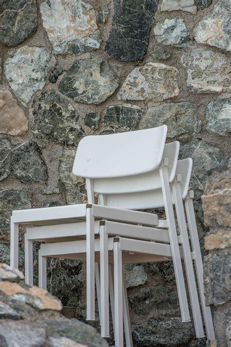 sedia emu sedia da giardino in alluminio collezione shine by emu