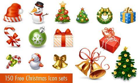 printable christmas icons porta lo spirito del natale nel tuo sito web con vettori e