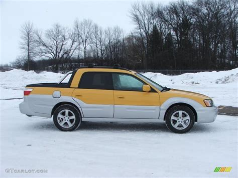 yellow subaru baja 2003 baja yellow subaru baja 44736583 photo 8 gtcarlot