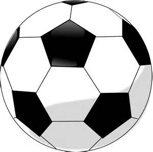 soccer ball black white clipart free cliparts art inspiration