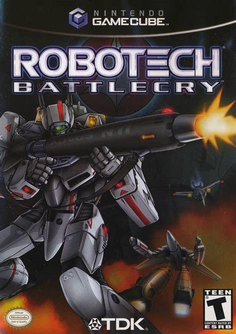 robotech battlecry gamecube game